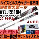 2018ルイスビル ニュートロン 一般軟式バット【おまけ付】WTLJRB18N(JRB17N後継)