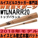 2018木製一般軟式バットPRIMEプロメープル ルイスビルスラッガーWTLNARR20