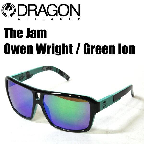DRAGON ドラゴン サングラス メンズ The Jam Owen Wright / Green Ion オーウェンライト ジャム サングラス 日本正規品【w8】