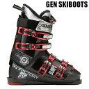 ゲン スキーブーツ 14-15 GEN BUMPS 8 バンプス8 ブラック×レッド (14-15 14/15 2015)フリースタイルスキー ブーツ【w8】
