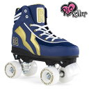 RIO ROLLER クワッドスケート VARSITY Blue×Gold ローラースケート