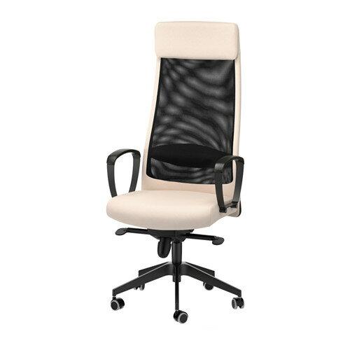 【期間限定】【IKEA/イケア/通販】 MARKUS 回転チェア, ヴィースレ ベージュ(d)(00309730) IKEA(イケア) /ホームオフィス / ワークチェア/回転チェア
