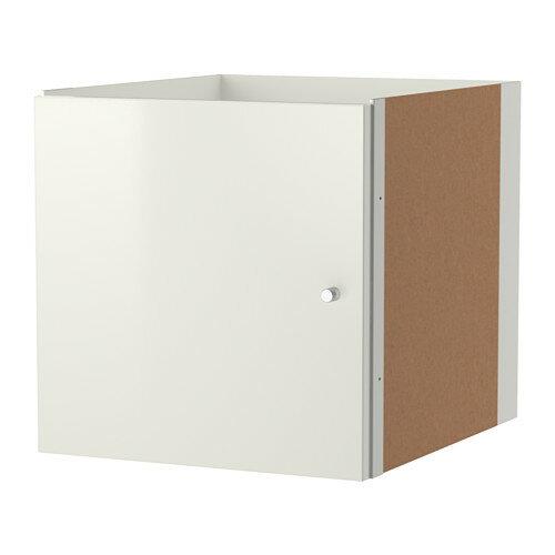【IKEA/イケア】 KALLAX インサート 扉, ハイグロス ホワイト(e)(20314641)