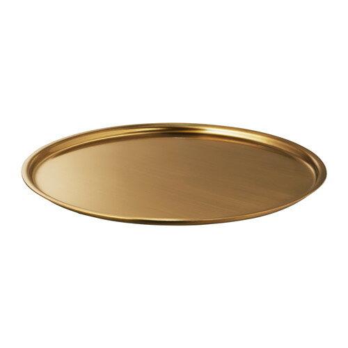 【IKEA/イケア/通販】 BELEVAD キャンドル皿, 黄銅色(c)(10327248)