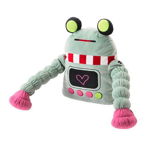 【IKEA/イケア/通販】 LATTJO ソフトトイ, ロボット, ライトグリーン(a)(20376851)