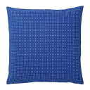 【IKEA/イケア/通販】 YPPERLIG クッションカバー, ブルー, 水玉模様(c)(00346836)