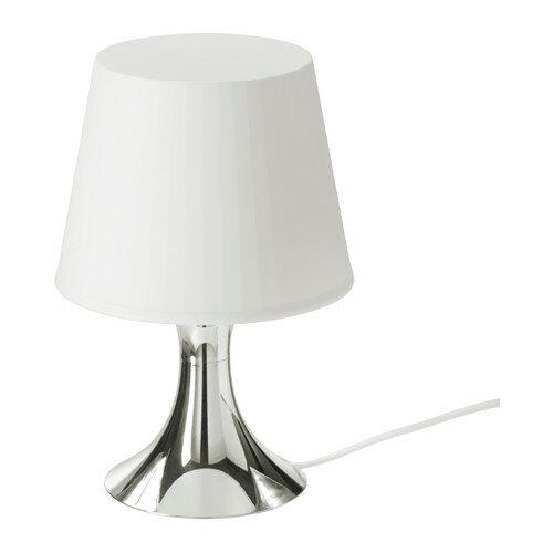 【IKEA/イケア/通販】 LAMPAN テーブルランプ, シルバーカラー(b)(30356428)