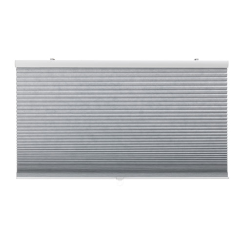 【IKEA/イケア/通販】 TRIPPEVALS 遮光断熱ブラインド, ライトグレー(a)(40336897)