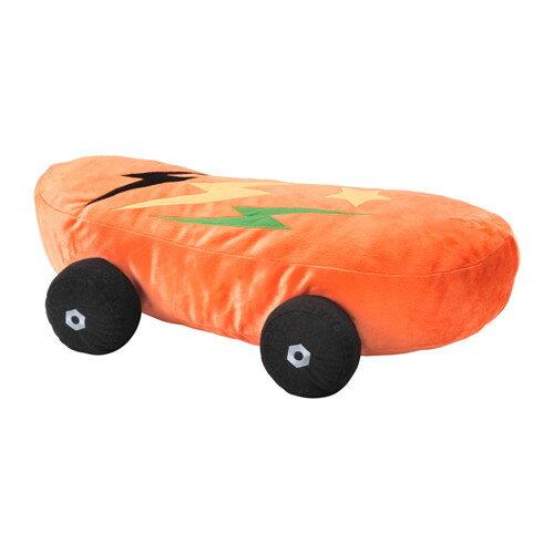【IKEA/イケア/通販】 LATTJO ソフトトイ, スケートボード, オレンジ(a)(90376857)