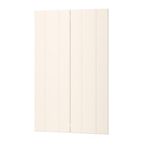 【IKEA/イケア/通販】 HITTARP 扉 コーナーベースキャビネット用 部品2個, オフホワイト(b)(50275426)