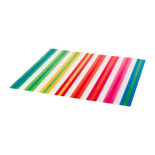 【IKEA/イケア/通販】 POPPIG ランチョンマット, ストライプ, マルチカラー(b)(70327085)