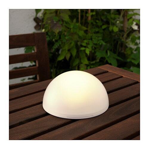 【IKEA/イケア/通販】 SOLVINDEN LED太陽電池式照明, 半球(c)(90343579)