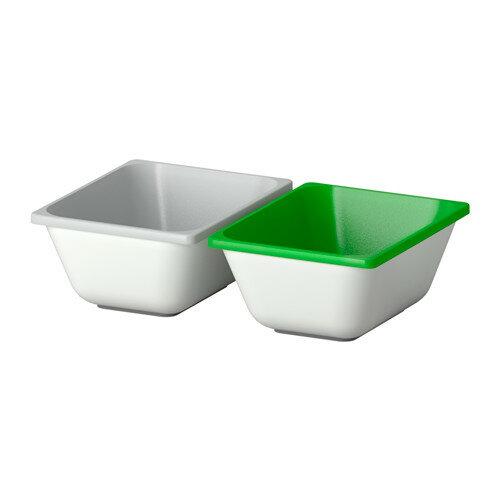 【IKEA/イケア/通販】 VARIERA ボックス, グリーン, グレー(b)(90335112)