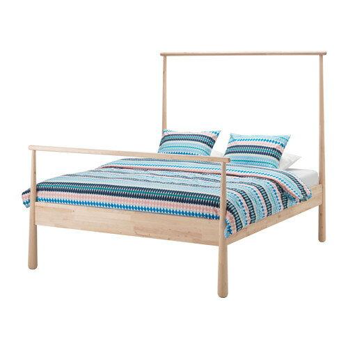 【IKEA/イケア/通販】 GJÖRA ベッドフレーム, バーチ, ルーローイ(b)(S69130240) IKEA(イケア)/ベッドルーム/ダブルベッド
