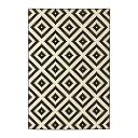 RoomClip商品情報 - 【IKEA/イケア/通販】 LAPPLJUNG RUTA ラップユング ルータ ラグ パイル短, ホワイト ホワイト/ブラック, ブラック(d)(20260520)