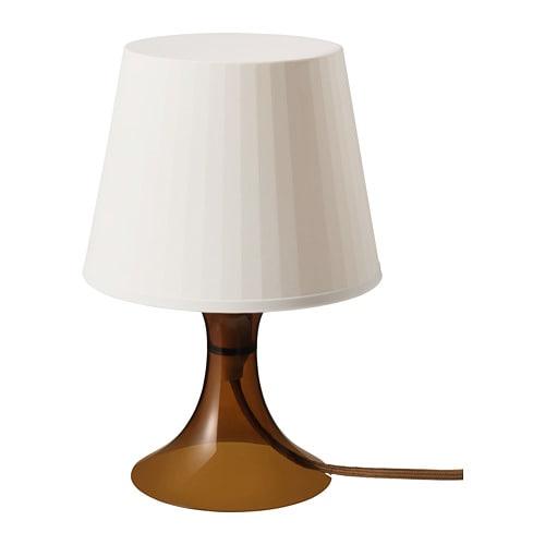 【IKEA/イケア/通販】 LAMPAN ラムパン テーブルランプ, ブラウン(10394643)
