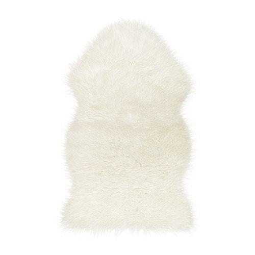 【IKEA/イケア/通販】 TEJN テイン ラグ, ホワイト(c)(10229078)