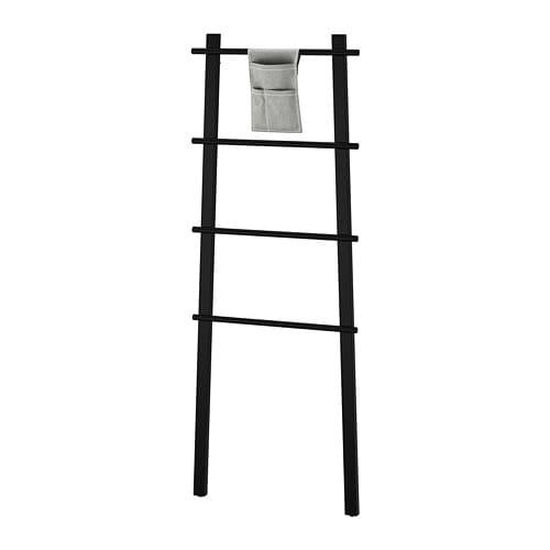 【IKEA/イケア/通販】 VILTO ヴィルト タオルスタンド, ブラック(d)(70358755)
