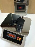 防塵・防水デジタル皿はかり30kg/5gバッテリー内蔵充電式対面式/両面LED表示おすすめ