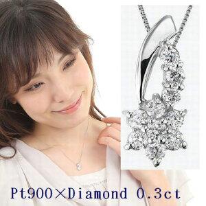 プラチナ ダイヤモンド ネックレス スイートテン カラット ダイヤブネックレス レディース シンプル ジュエリー