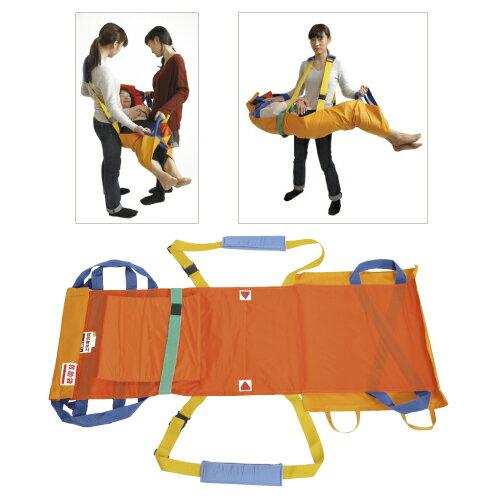救護用ベルト式担架「ベルカ」(座り姿勢の保てる人...の商品画像