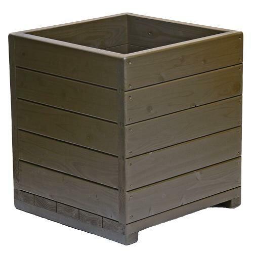 送料無料Welcomewood大型植木鉢15号ウッドプランターEHD15-UB容量・約73リットル大