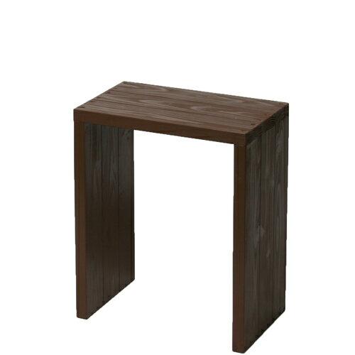Welcome wood ウッドステージ WSW45H-CB ワイドタイプ  色はカフェブラウン(CB) (フラワースタンド  フラワーラック プランタースタンド 飾り台)などにご利用ください。