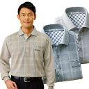 ポロシャツ 長袖 メンズ 3色組 着心地抜群 夏の涼感長袖ポロシャツ ラッセル生地 日焼け対策 冷房対策 春夏 50代 60代 957532