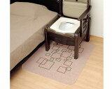 【リッチェル】ポータブルトイレ用 消臭・防水マットR / 49006【定番在庫】即日・翌日配送可