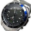 ELGIN エルジン 腕時計 電波 ソーラー メンズ Men's 時計 FK1400S-BLP ブラック ブルー 100M 防水 タフソーラー 人気 ブランド エルジン腕時計 エルジン時計 電波ソーラー 黒 青 ソーラー電波 プレゼント 男性 父の日 ギフト