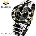ジョンハリソン JOHN HARRISON 腕時計 4石天然ダイヤモンド付ソーラー電波 メンズ JH-024MBB ジョンハリソン腕時計 カジュアル ウォッチ ジョンハリソン時計 男性 彼氏 父 誕生日 記念日 ギフト プレゼント 時計