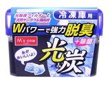 エムズワン 光&炭 冷凍庫用脱臭剤 (70g) 【HLSDU】
