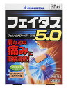【第2類医薬品】久光製薬 フェイタス5.0 (35枚入) ウェルネス