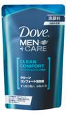 ユニリーバ Dove ダヴ MEN+CARE クリーン コンフォート 泡洗顔 つめかえ用 (110ml) 【unili3e102】 ウェルネス