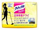 【特売セール】 花王 クイックルワイパー ドライシート (40枚)