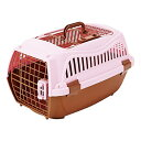 ペティオ 2ドア スマイルキャリー ピンク Mサイズ (1個) ペット用キャリー