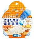 クレハ キチントさん ごはん冷凍保存容器 【一膳分用 250ml】 (2個) 【kureha0425】 ウェルネス