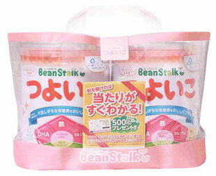 雪印ビーンスタークつよいこ大缶満9か月頃〜3歳頃(800g×2缶)ベビー粉ミルクフォローアップミルク