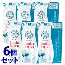 【特売】 《セット販売》 ライオン ハダカラ hadakara ボディソープ リッチソープの香り つめかえ用 (360mL)×6個セット 詰め替え用 液体で出てくるタイプ