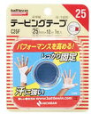 ニチバン バトルウィン 非伸縮 テーピングテープ C25F 【指・手首用 非伸縮】 (25mm×12m 1巻入) ウェルネス