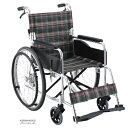 車椅子 自走介助兼用車椅子 [マキライフテック] セレクトシリーズ KS50 車イス/車いす/車椅子/送料無料
