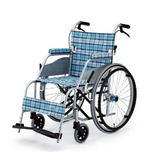 車椅子送料無料軽量軽い折りたたみ持ち運び片山車椅子自走介助兼用自走用カールKARLKW-901B車ト