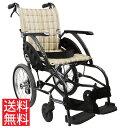 疲れにくい 車椅子 軽量 コンパクト スリム おしゃれ ノーパンクタイヤ 介助用 送料無料 カ