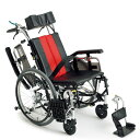 送料無料 車椅子 コンパクト ティルト リクライニング