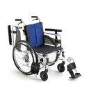 車椅子 自走介助兼用車椅子 機能充実 [MiKi/ミキ] BALシリーズ BAL-5 車イス/車いす/車椅子/送料無料