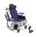 送料無料 車椅子 ティルト リクライニング コンパクト