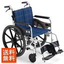 車椅子自走介助兼用[MiKi/ミキ]KJPシリーズKJP-2M車イス/車いす/車椅子/送料無料
