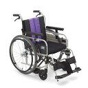 送料無料 車椅子 自動ブレーキ ノンバックブレーキシステム MIKI ミキ とまっティシリーズ MBY-41BSW スイングアウト ロータイプ 低床 ..