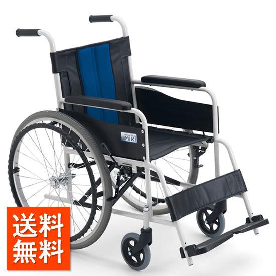 送料無料車椅子施設病院店舗シンプルお手入れ簡単ノーパンクMIKIミキスチール製FE-3自走用車イス車