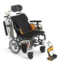 送料無料 車椅子 コンパクト 小回り 姿勢安定 ティルト MIKI ミキ スキットシリーズ SKT_Pl